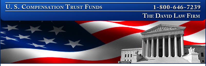 U.S. Compensation Trust Funds. Call: 800-998-9729